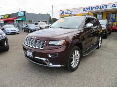 2014 Jeep Grand Cherokee for sale at Import Auto World in Hayward CA
