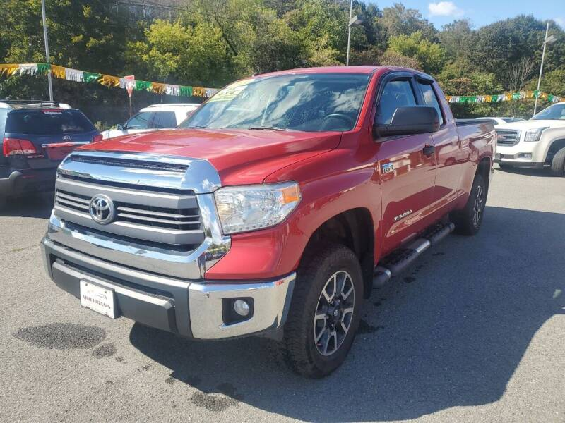 2014 Toyota Tundra for sale at Mulligan's Auto Exchange LLC in Paxinos PA