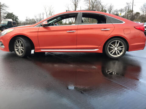 2015 Hyundai Sonata for sale at Beckham's Used Cars in Milledgeville GA