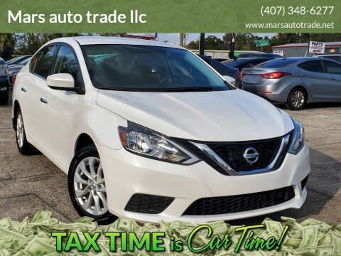 2018 Nissan Sentra for sale at Mars auto trade llc in Kissimmee FL