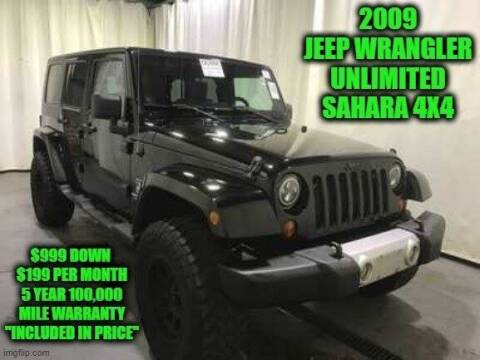 2009 Jeep Wrangler Unlimited for sale at D&D Auto Sales, LLC in Rowley MA