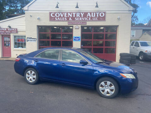 2007 Toyota Camry for sale at COVENTRY AUTO SALES in Coventry CT