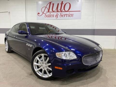2007 Maserati Quattroporte for sale at Auto Sales & Service Wholesale in Indianapolis IN