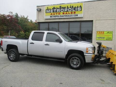 2014 Chevrolet Silverado 3500HD for sale at Metropolis Auto Sales in Pelham NH