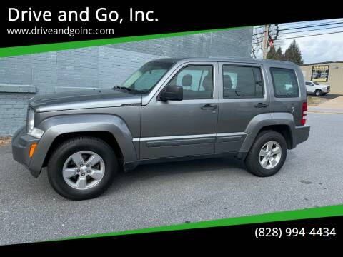 2012 Jeep Liberty for sale at Drive and Go, Inc. in Hickory NC
