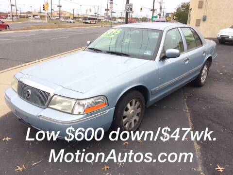 2003 Mercury Grand Marquis for sale at Motion Auto Sales in Collingswood Heights NJ