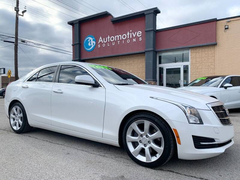 2015 Cadillac ATS for sale at Automotive Solutions in Louisville KY
