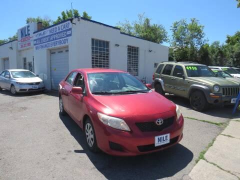 2009 Toyota Corolla for sale at Nile Auto Sales in Denver CO
