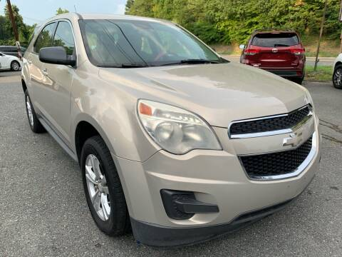 2012 Chevrolet Equinox for sale at D & M Discount Auto Sales in Stafford VA