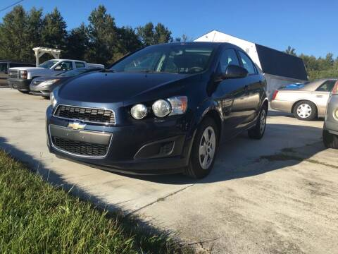 2015 Chevrolet Sonic for sale at Complete Auto Credit in Moyock NC