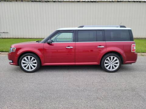 2015 Ford Flex for sale at TNK Autos in Inman KS