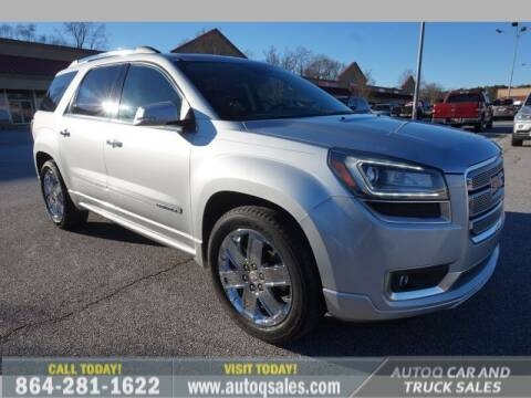 2014 GMC Acadia for sale at Auto Q Car and Truck Sales in Mauldin SC