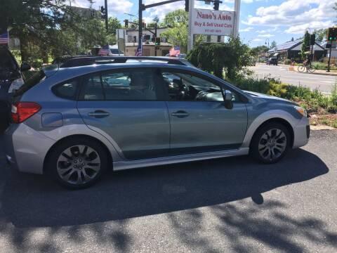 2012 Subaru Impreza for sale at Nano's Autos in Concord MA