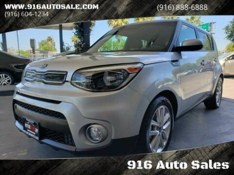 2017 Kia Soul for sale at 916 Auto Sales in Sacramento CA