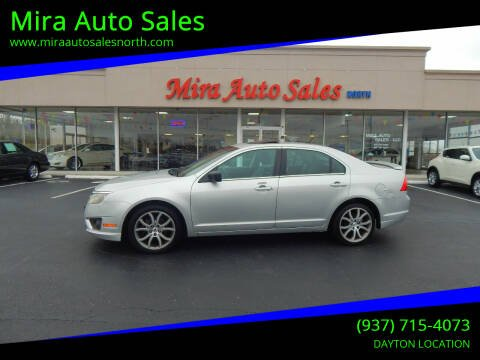 2012 Ford Fusion for sale at Mira Auto Sales in Dayton OH