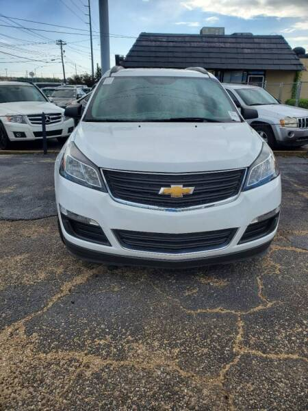 2017 Chevrolet Traverse for sale at Dependable Auto Sales in Montgomery AL