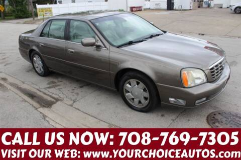 2001 Cadillac DeVille for sale at Your Choice Autos in Posen IL