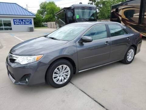 2013 Toyota Camry for sale at Kell Auto Sales, Inc - Grace Street in Wichita Falls TX