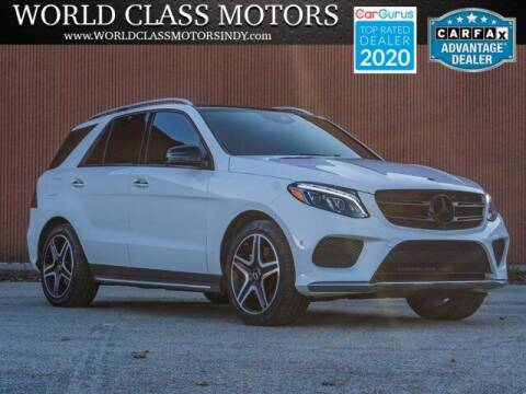 2017 Mercedes-Benz GLE for sale at World Class Motors LLC in Noblesville IN