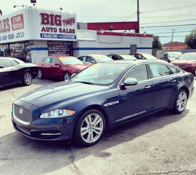 2012 Jaguar XJL for sale at Big Three Auto Sales Inc. in Detroit MI
