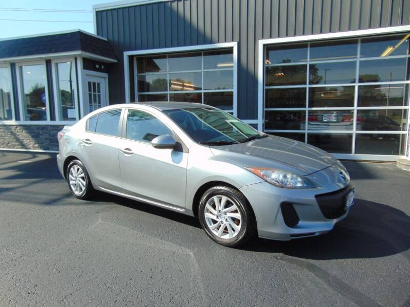 2012 Mazda MAZDA3 for sale at Akron Auto Sales in Akron OH