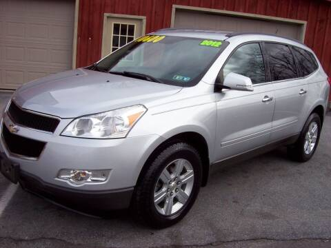 2012 Chevrolet Traverse for sale at Clift Auto Sales in Annville PA