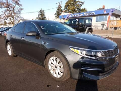 2016 Kia Optima for sale at All American Motors in Tacoma WA