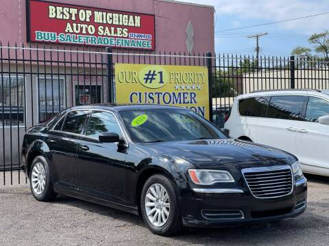 2014 Chrysler 300 for sale at Best of Michigan Auto Sales in Detroit MI