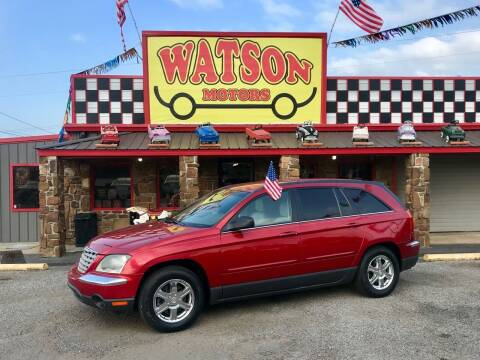 2004 Chrysler Pacifica for sale at Watson Motors in Poteau OK