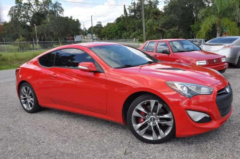2014 Hyundai Genesis Coupe for sale at Elite Motorcar, LLC in Deland FL