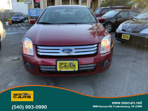 2007 Ford Fusion for sale at Mix Cars in Fredericksburg VA