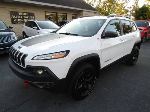 2017 Jeep Cherokee for sale at 2010 Auto Sales in Troy NY