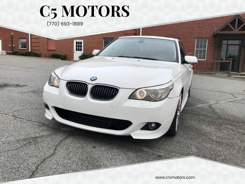 2008 BMW 5 Series for sale at C5 Motors in Marietta GA