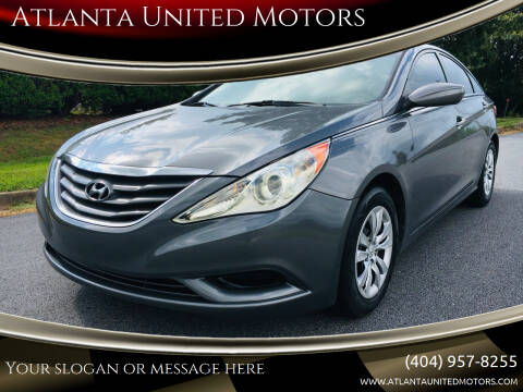 2011 Hyundai Sonata for sale at Atlanta United Motors in Buford GA