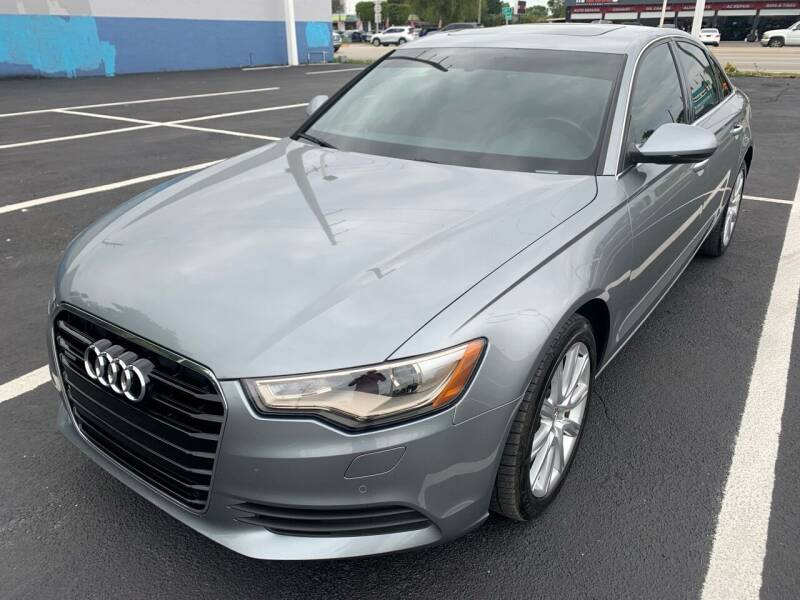 2014 Audi A6 for sale at Eden Cars Inc in Hollywood FL