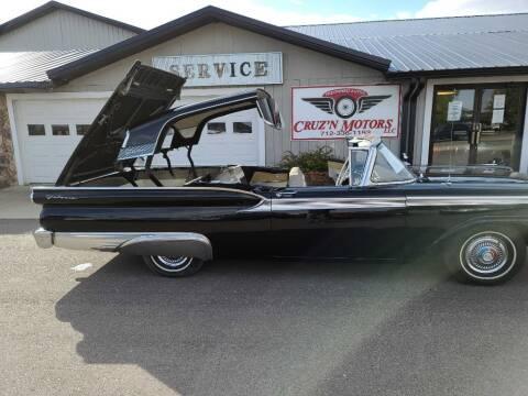 1959 Ford Galaxie 500 for sale at CRUZ'N MOTORS - Classics in Spirit Lake IA