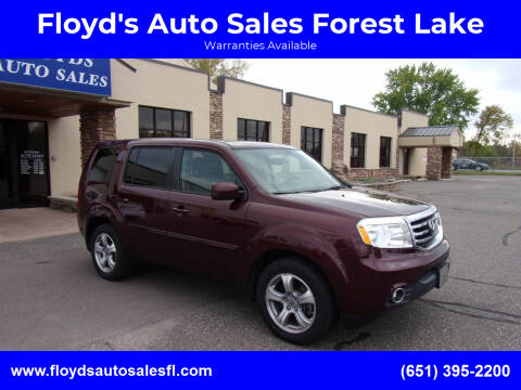 2014 Honda Pilot for sale at Floyd's Auto Sales Forest Lake in Forest Lake MN