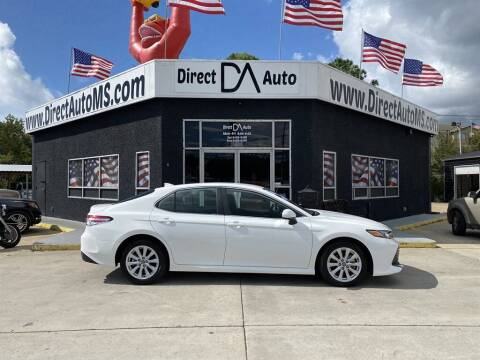 2020 Toyota Camry for sale at Direct Auto in D'Iberville MS