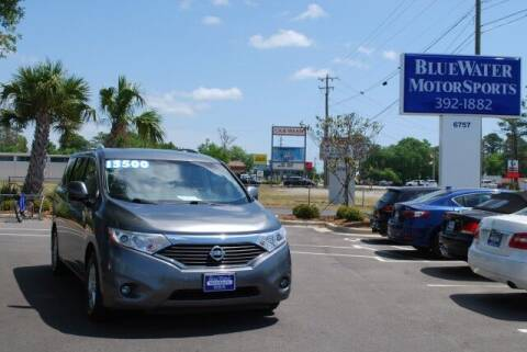 2016 Nissan Quest for sale at BlueWater MotorSports in Wilmington NC