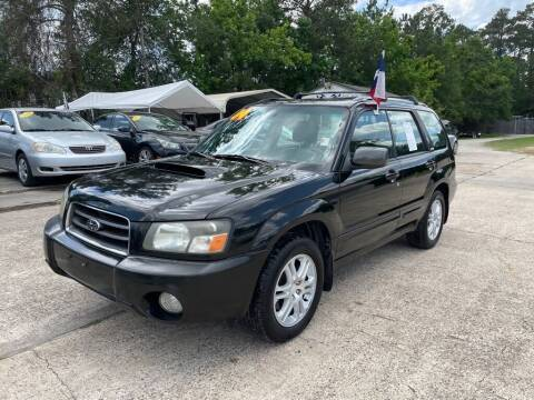 2004 Subaru Forester for sale at AUTO WOODLANDS in Magnolia TX