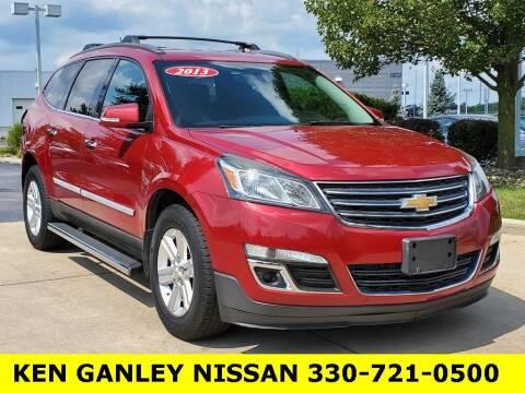 2013 Chevrolet Traverse for sale at Ken Ganley Nissan in Medina OH