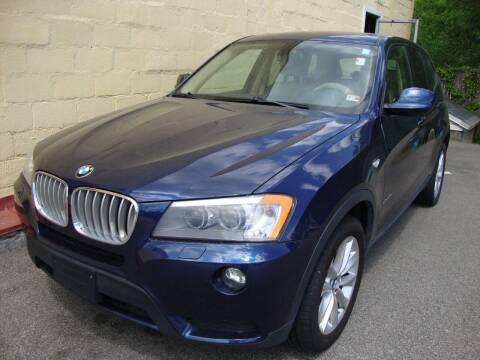 2014 BMW X3 for sale at Easy Ride Auto Sales Inc in Chester VA