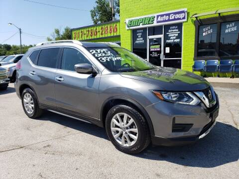 2018 Nissan Rogue for sale at Empire Auto Group in Indianapolis IN