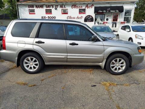 2005 Subaru Forester for sale at Class Act Motors Inc in Providence RI