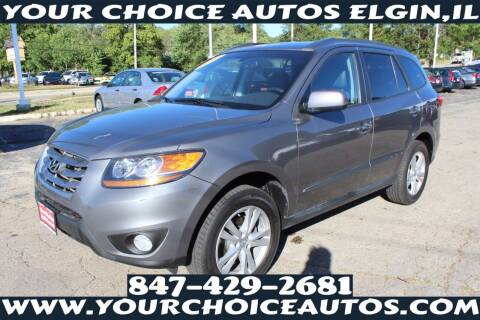 2010 Hyundai Santa Fe for sale at Your Choice Autos - Elgin in Elgin IL