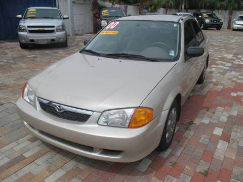 2000 Mazda Protege for sale at Affordable Auto Motors in Jacksonville FL