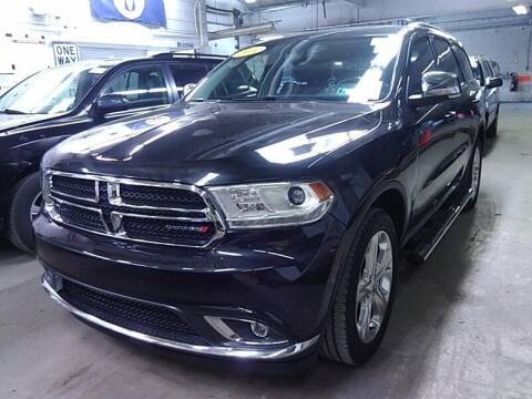 2014 Dodge Durango for sale at Cj king of car loans/JJ's Best Auto Sales in Troy MI