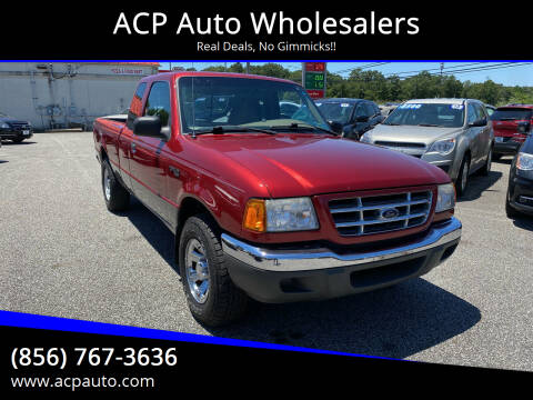 2001 Ford Ranger for sale at ACP Auto Wholesalers in Berlin NJ