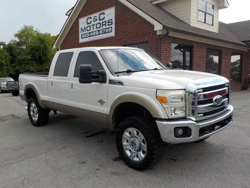 2011 Ford F-250 Super Duty for sale at C & C MOTORS in Chattanooga TN