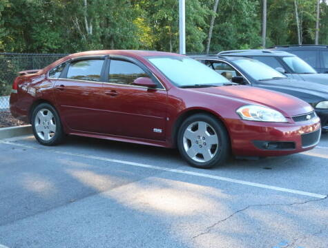 2009 Chevrolet Impala for sale at Southern Auto Solutions - BMW of South Atlanta in Marietta GA